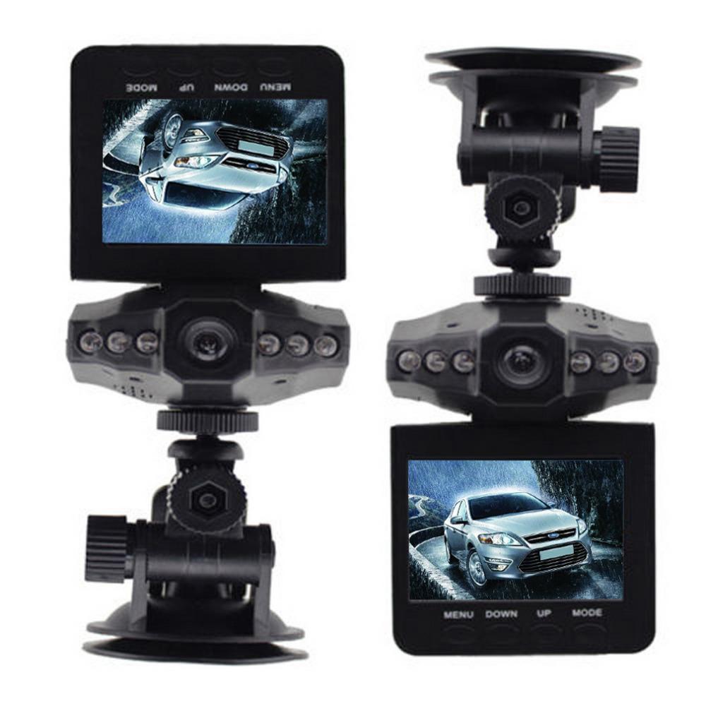 "new 2.5"" LCD Screen 6 LED Night Vision Vehicle Car Detector camera Recorder 120 Degree Wide View Angle HD Car DVR hot selling(China (Mainland))"