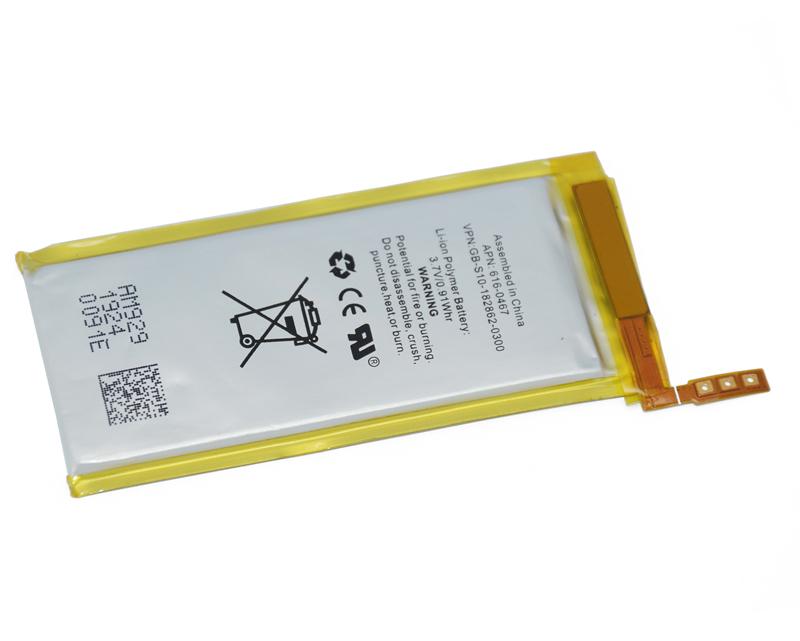 original new cell Replacement high capacity 370mah battery for iPod Nano 5 5th internal battery(China (Mainland))