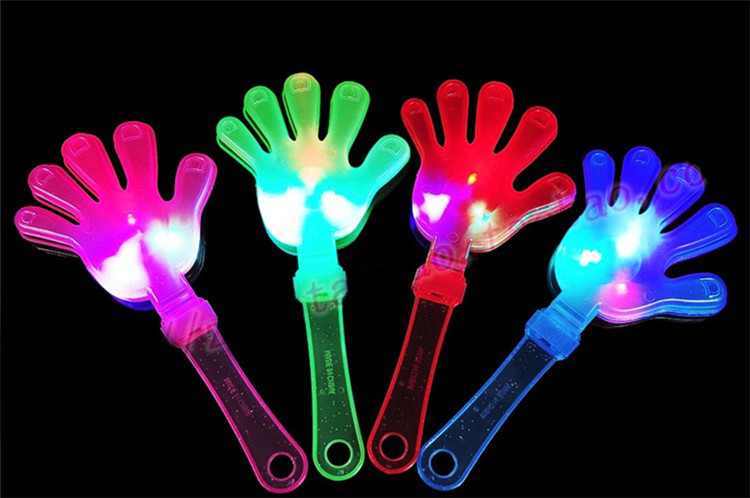 10pcs/lot Flashing baby & kids rattles toys product fashion light-emitting lights arm/palm for festival/party/concert supplies(China (Mainland))