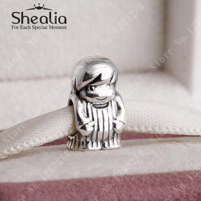 2015 день матери коллекция мальчик бусины стерлингового серебра 925 SHEALIA украшения для женщин подходит известный бренд браслеты diy BD224