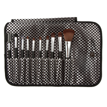 New Beauty 10Pcs New Cosmetic Makeup Brushes Set Make Up Brush Powder Eyeshadow Black pincel maquiagem maquillage G#J6