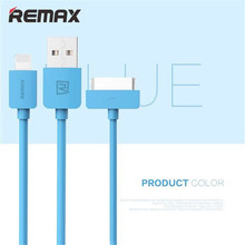 Buy Remax Mobile Phone Lightning USB Charger Data Cable iPhone 6 5 iPad Air iPod 30 Pin USB Cable iPhone 4s 4 for $1.40 in AliExpress store
