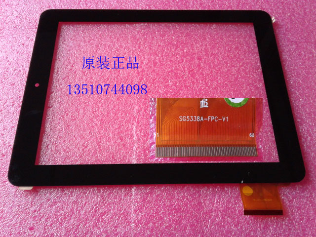 Original 9.7inch aino novo9 SG5338A-FPC-V1 firewire quad-core touch screen handwritten screen external screen(China (Mainland))