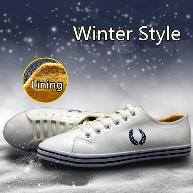 Бесплатная доставка 2015 зимние мужчин холст и пу обувь британский стиль шарм полуботинки ...