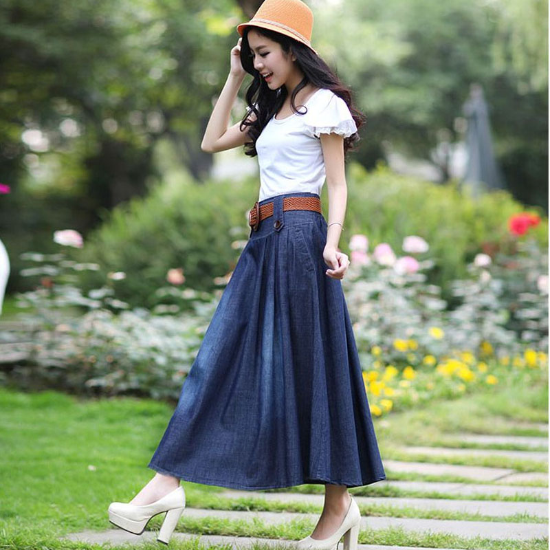 2013 New Spring And Summer Women S Denim Skirts Slim | Male Models Picture