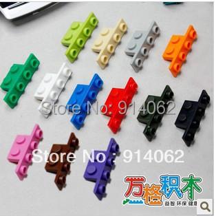 2015 Self-locking Brick Irregular Shape Toys Free Shipping 300 pcs/lot Multicolor(China (Mainland))