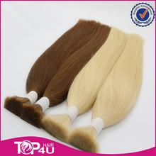 Высокое качество полный кутикулы не силиконовые 100 г/шт. 20 — 24 дюйм(ов) дважды обращается россии волосы
