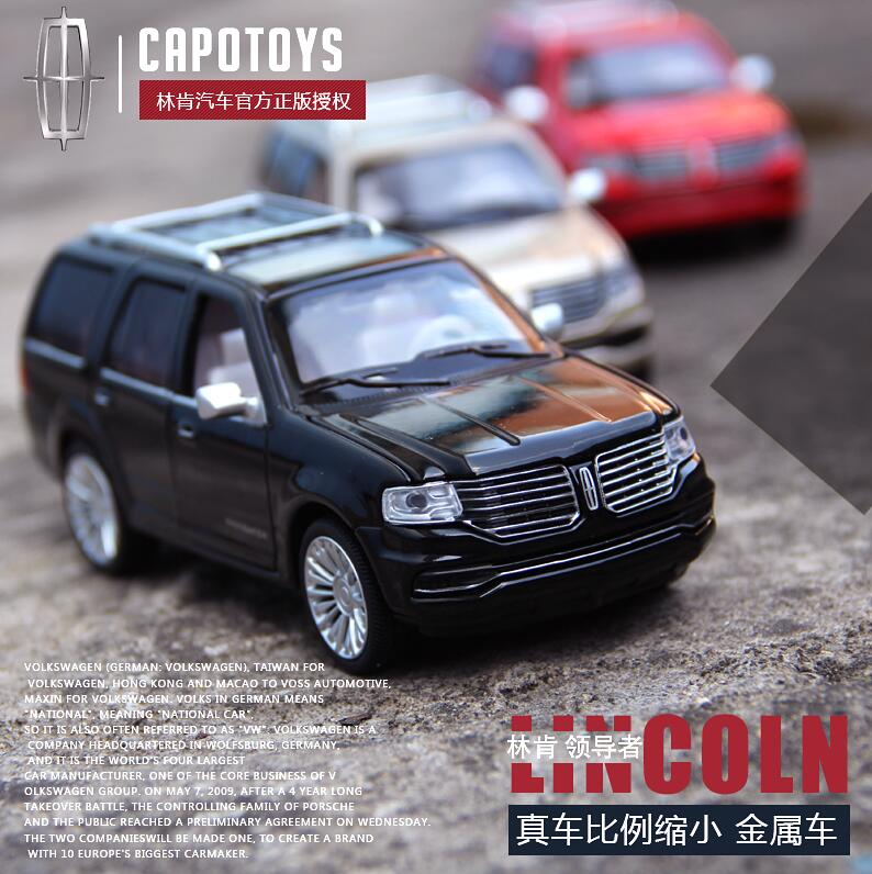Lincoln Navigator Luxury SUV 1:32 Alloy Diecast Car Model High Simulation Diecasts Toy Vehicles Car Styling For Baby Gifts(China (Mainland))