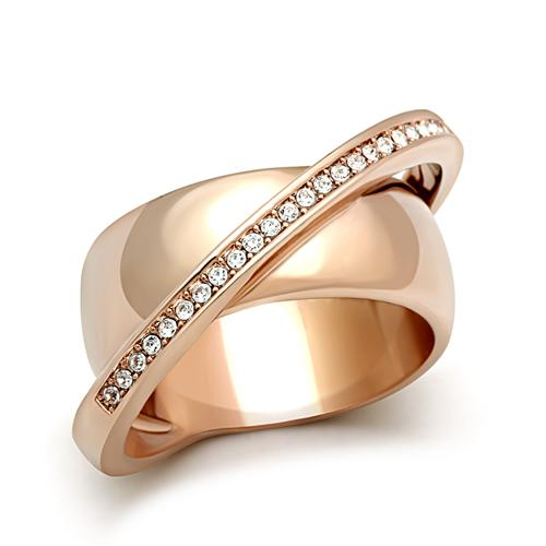 DC1989 Women Brass Finger Ring Saturn Satellite Design High Quality Long Lasting Vacuum Ionic Rose Gold Plated Top Grade Crystal(China (Mainland))