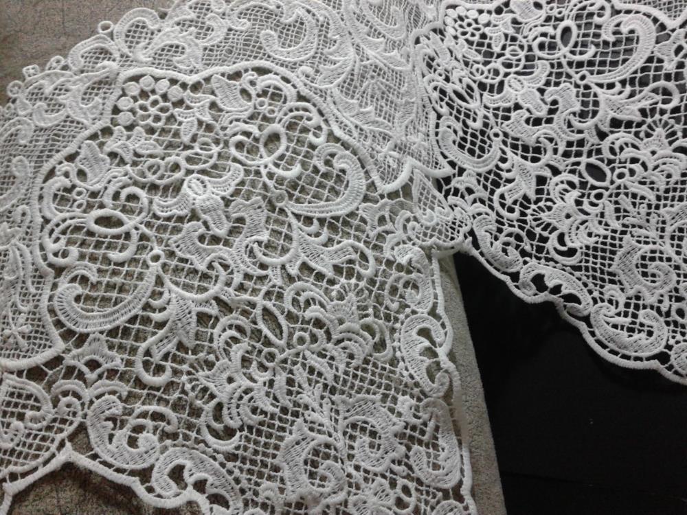 Гипюр ткань из кружева