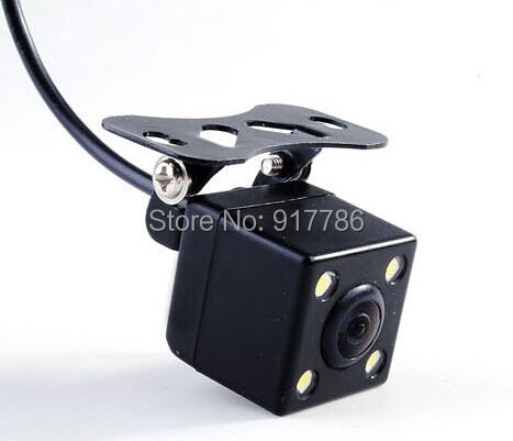 Parking Assistance System Universal Real HD CCD 4 LED Night Vision Car Rear View Camera Backup side 170 degrees waterproof - Shenzhen Cando Electronics Co.,LTD store