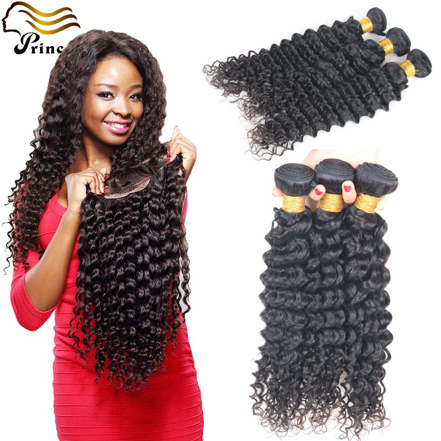 7A Virgin Brazilian Human Hair Bundles Deep Wave Unprocessed Virgin Hair Weave Bundles 3 pcs lot Deep Wave Human Hair Extensions<br><br>Aliexpress