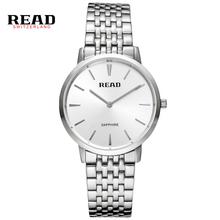 Fashion Top Luxury Brand Read Watches Men Stainless Steel Mesh Strap Quartz-Watch Dial Clock Man Relogio Masculino PR51