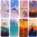 Phone Case For iphone 7 Case for iPhone 7 Plus 6 6s Plus Covers Snow Mountain