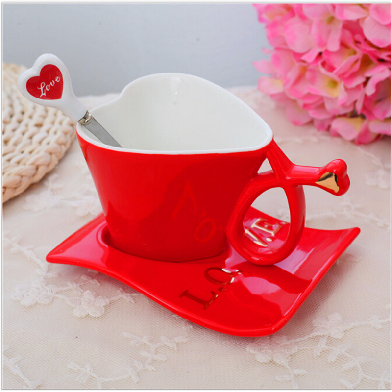 Online Buy Wholesale Ceramic Heart Shaped Tea Cups And