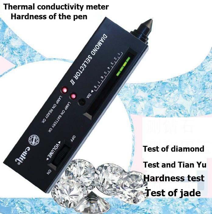 1 PC bijoux outil de diamant détecteur électronique diamant sélecteur de pierres précieuses gemmes Tester Instrument d'identification livraison gratuite(China (Mainland))