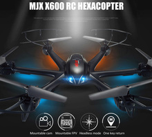 2016 MJX X600 2.4G 6 Axis 3D Roll RC Quadcopter Drone Aerial Camera C4008 UAV RC Helicopter Drone With FPV Camera Simulator