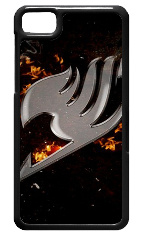 Generic Products Fairy Tail Cover Case Skin For Black Berry Z10(China (Mainland))