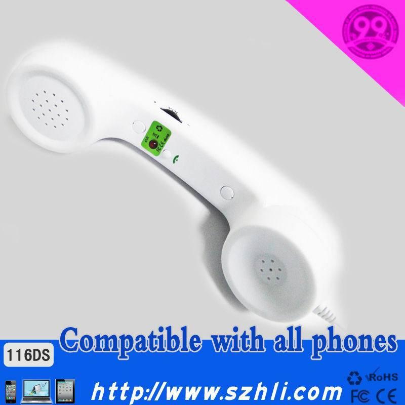 Hot sale!Stylish moshi moshi pop phone handsets with anti radiation function(China (Mainland))