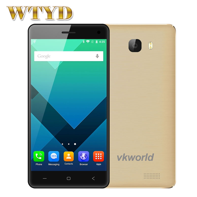 Original VKworld T5 Network 3G 5'' Android 5.1 MTK6580 Quad Core 1.3GHz RAM 2GB+ ROM 16GB Support GPS Mobile AP(China (Mainland))
