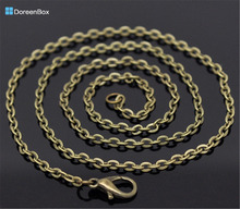 "Buy Doreen Box hot- 12 Bronze Tone Lobster Clasp Link Chain Necklaces 20"", B12922 for $2.63 in AliExpress store"