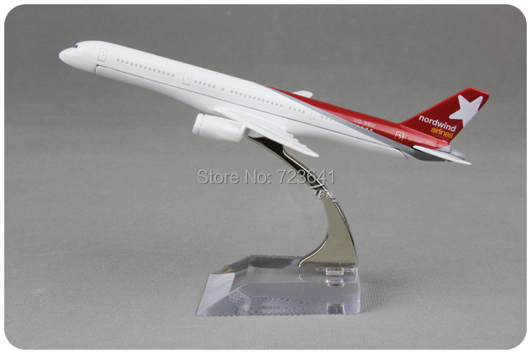 NEW Russia Nordwind Airlines Boeing B757-200 Russian Federation Plane Model 16cm alloy airplane aircraft models toy gift(China (Mainland))