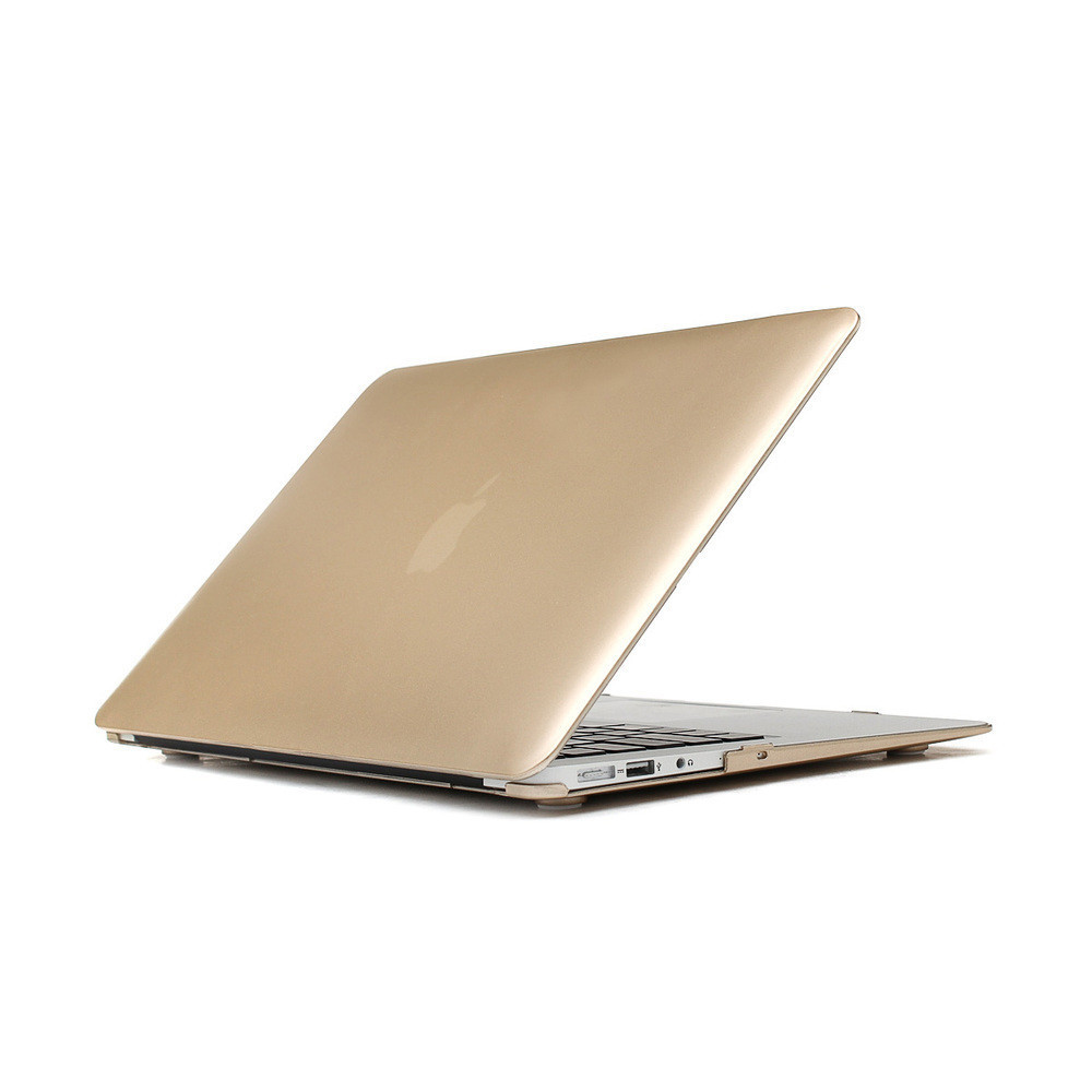Champagne Gold Sleeves Cover Shell For MacBook Air pro Retina 11 13 Inch Laptop Protector Bag