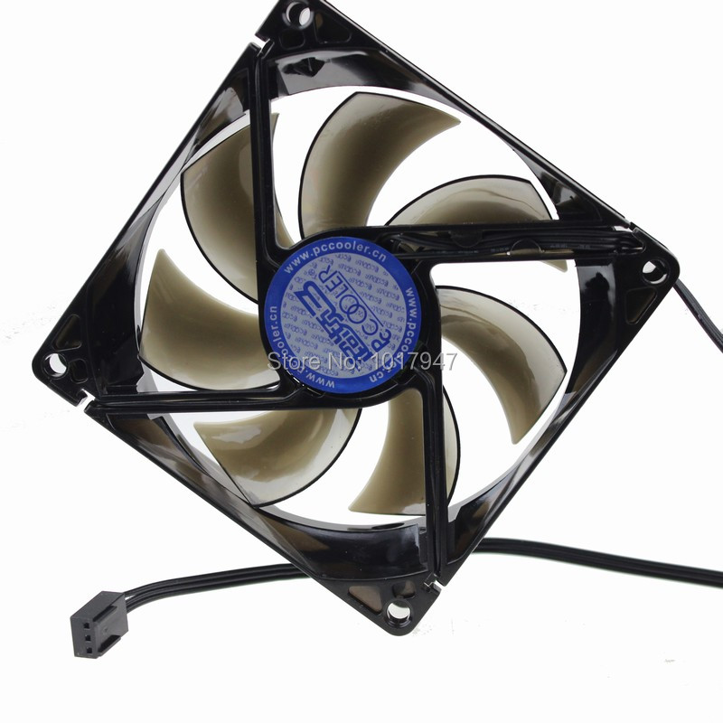 1PCS 90mm 90x25mm 3pin 12v Blue LED Cooling Fan for CPU Compute Case(China (Mainland))