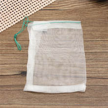 Nylon Mesh Drawstring Net Bag for Aquarium Filter Media Bio Ring Bio-Ball Carbon 10x15cm(China (Mainland))