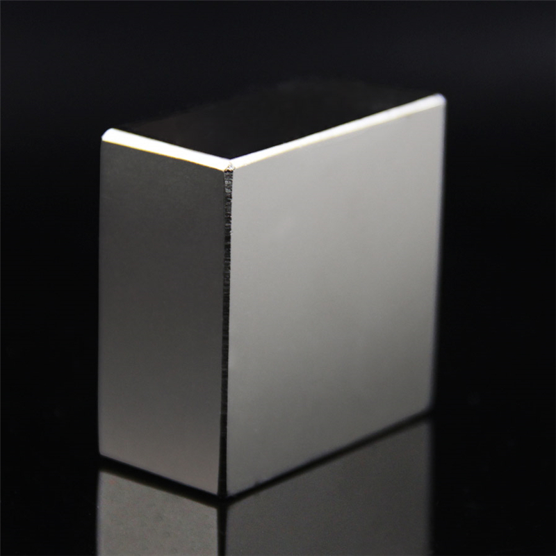 Super Powerful Strong Rare Earth Block NdFeB Magnet Neodymium N52 Magnets F40*40*20mm- Free Shipping(China (Mainland))