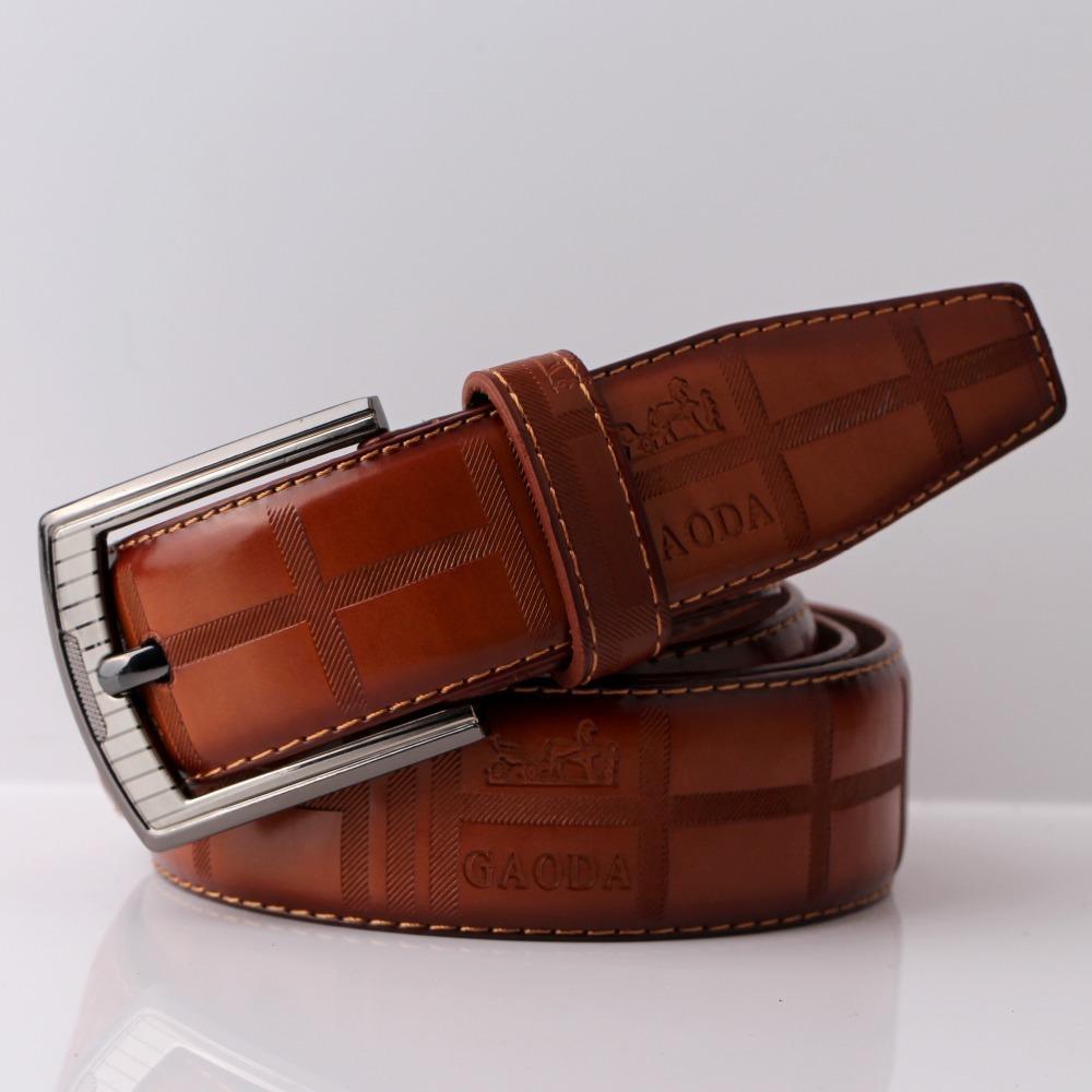 Человек ремень искусственная кожа бренд дизайнер булавка пряжка кожа ремни для человека роскошь n002