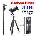 ASHANKS A40C For Camera Professional Monopod Carbon Fiber Tripod For DSLR Camera Stand Better than Q666C