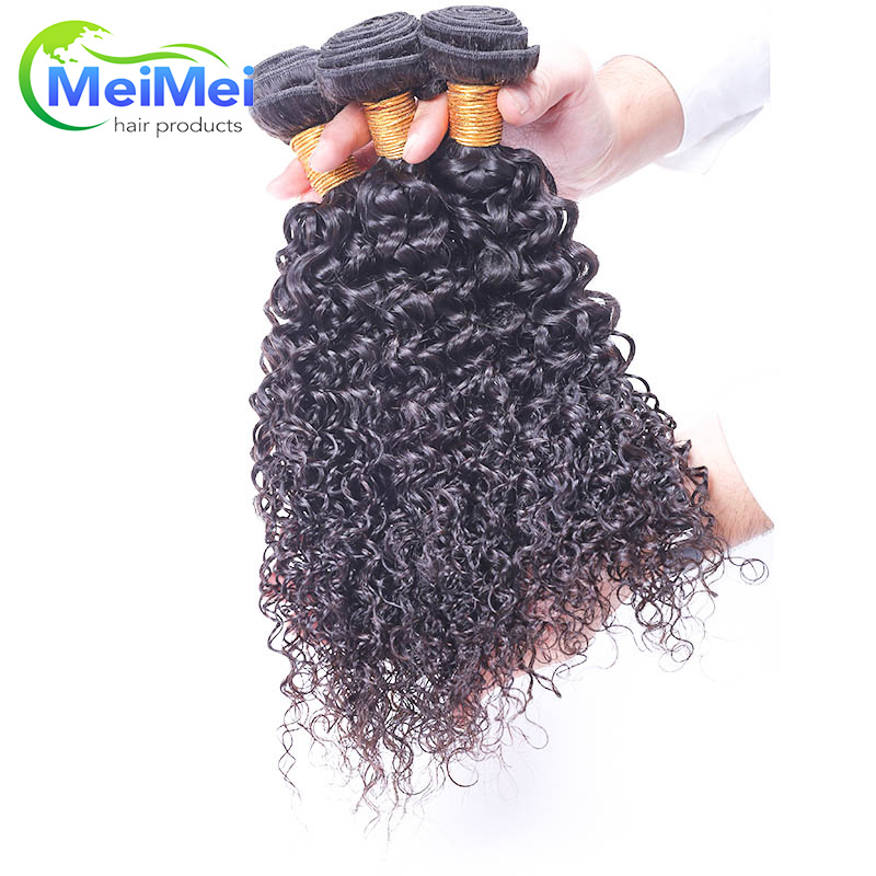 3 Bundles/lot European Curly Wave Virgin Hair 100g Peerless Virgin Hair Curly Wavy Meimei Hair Shop Pelucas De Pelo Humano