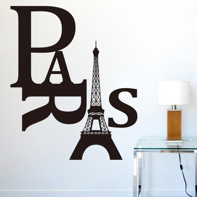 Бесплатная доставка эйфелева башня гобелены 8186 гостиная спальня оформление фона стены стикеры Paris'Tower стикер стены