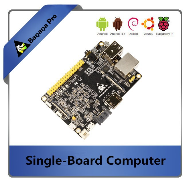 ARM Cotex A7 Dual Core 1GHz and WIFI supported on board Banana Pi upgraded Banana Pro(China (Mainland))
