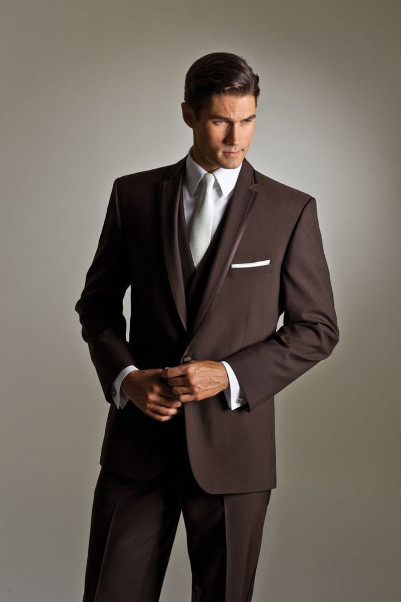 Brown Wedding Suits For Groom - Ocodea.com