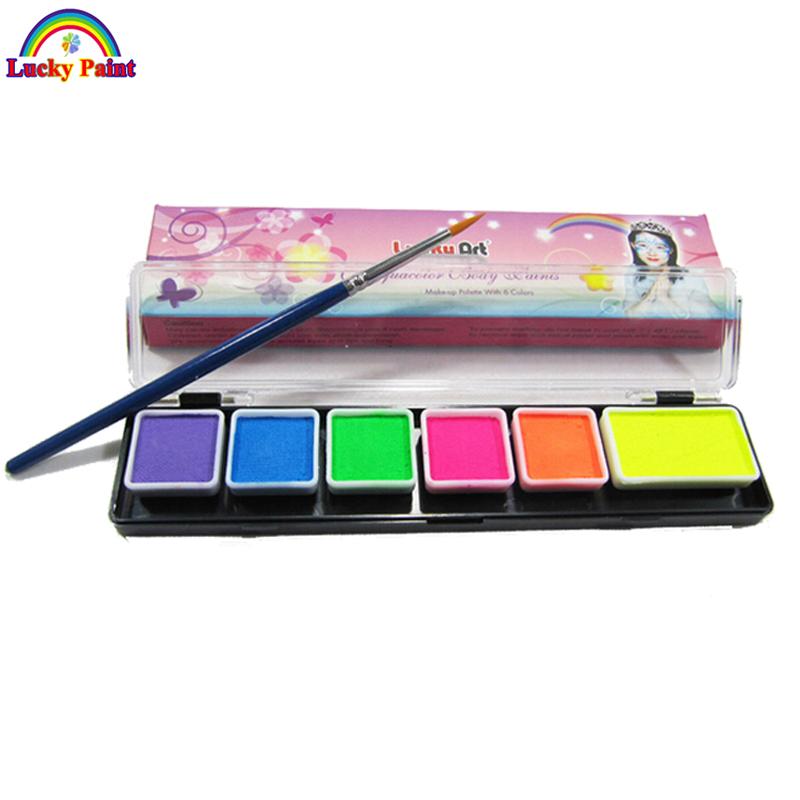 Brush On Fluorescent Paint