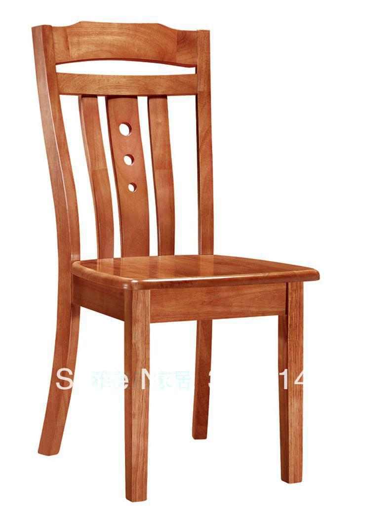 Chairs factory direct oak dining solid wood