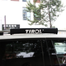 Buy TIROL T21877 d Pair Soft Roof Rack Black luggage Rack outdoor Portable Removable roof skis frame ) for $69.00 in AliExpress store