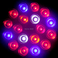 10PCS Lot led Grow lights 12Red 6Blue 2white 2orange E27 54W LED bulbs Full spectrum Hydroponic
