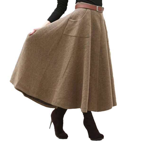 High Quality Long Wool Skirt-Buy Cheap Long Wool Skirt lots from ...