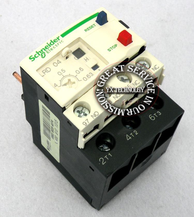 Thermal overload relay LRD04C LR-D04C 0.4-0.63A<br><br>Aliexpress