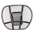 Universal Car Seat Massage Cushion Mesh Lumbar Back Brace Support Cool Summer Office Home Auto Seat