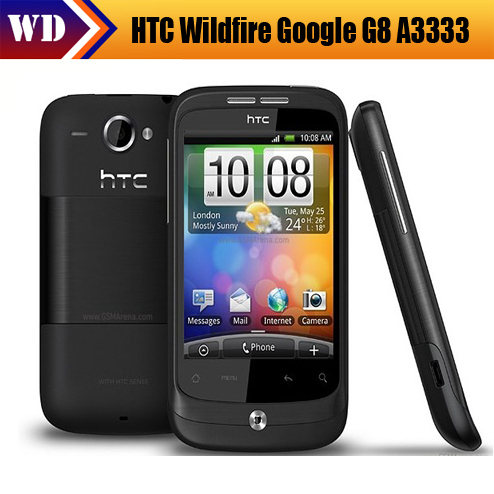 G8 Original HTC Wildfire Google G8 A3333 Android GPS 5MP Camera Smrtphone Unlocked Cell Phone Free shipping(China (Mainland))
