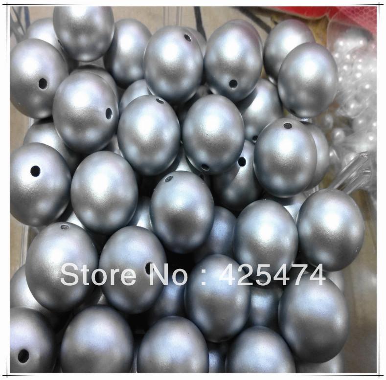 Acrylic pearl beads 18 beads.high 150pcs DIY chunky pearl beads