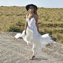 Buy Bridal Dress Wedding Dress Lace Sexy Bohemian Beach Style Boho Hippie Backless Chiffon Country Gown Vestidos De Noiva 2017 for $202.70 in AliExpress store