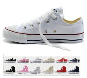 High Low-Top Style Star Classic Canvas Sneakers For Men Women Sport Shoes Free Shipping All Size 35-45(China (Mainland))