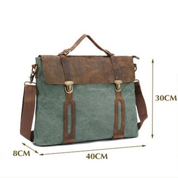 Free shipping men canvas handbags men messenger bags 2014 British restore ancient ways bags men business shoulder bags