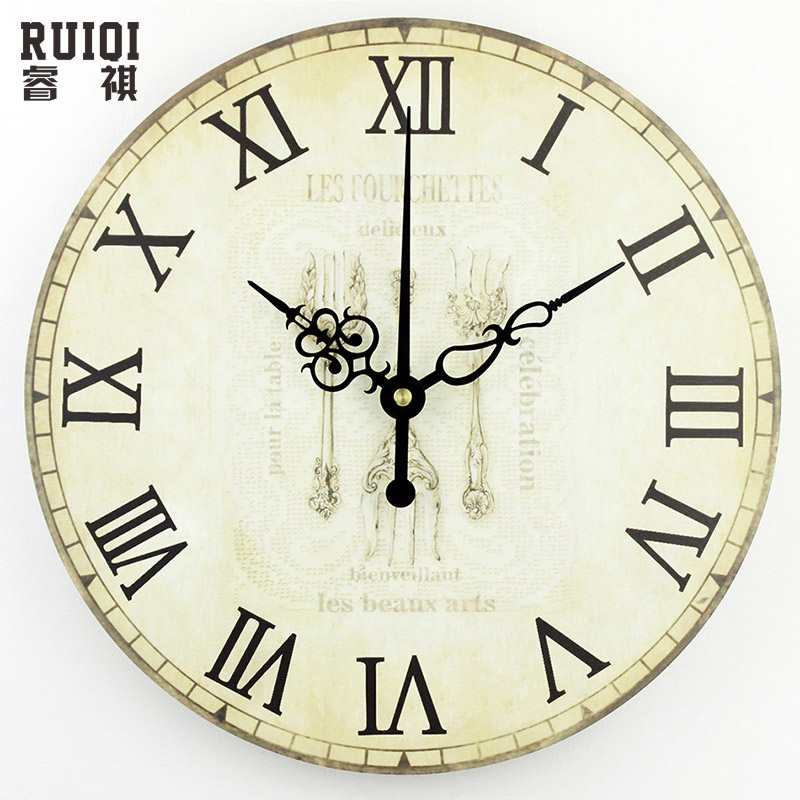 Decorative Wall Clock Model : Kitchen large decorative wall clock absolutely silent home