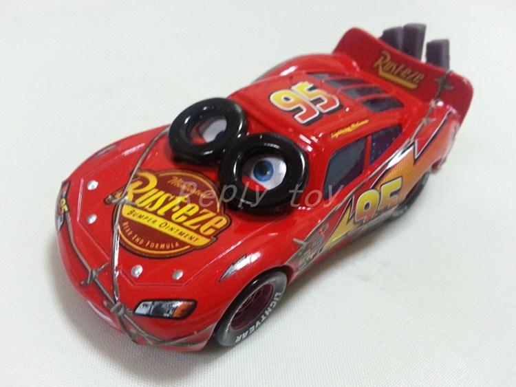 Pixar Cars Spinout Lightning MaiKun Metal Diecast Toy Car 1:55 Loose Brand New In Stock & Free Shipping(China (Mainland))